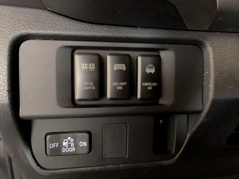 Switch Panel For Mounting OEM Style Switches