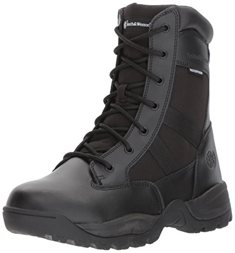 Smith & Wesson Men's Breach 2.0 Tactical Waterproof Side Zip Boots - stylishcombatboots.com