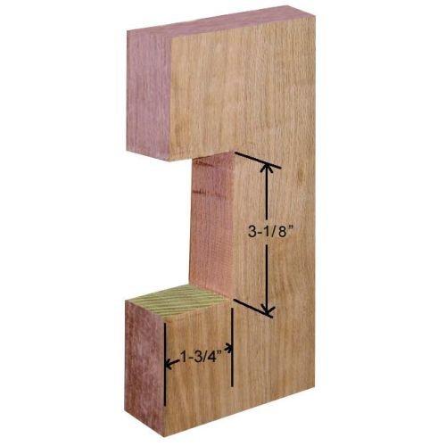Emtek 2101 3-1/2 Inch Height Passage Pocket Door Lock, Oil Rubbed Bronze