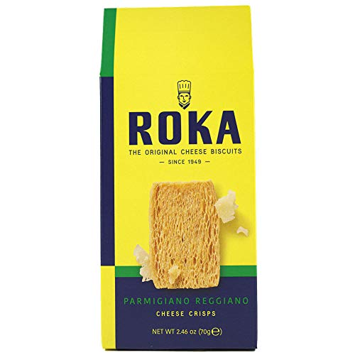 Roka Gouda Cheese - Roka, Parmigiano Reggiano Cheese Crisps (8 pack)