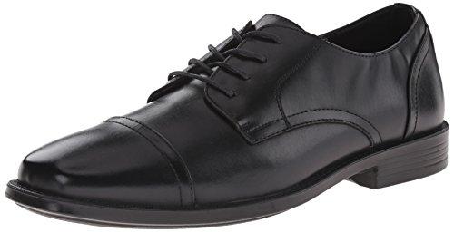 Deer Stags Men's Calvin Oxford, Black, 9 M (Calvin Classic Dress Socks)