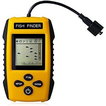 Venterior portable fish finder fishfinder for Venterior portable fish finder