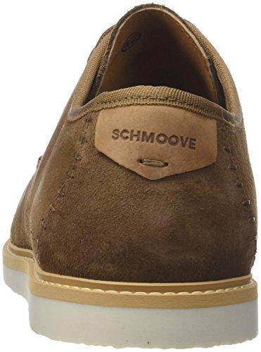 de Marrón para Derby Zapatos Z1 Hombre Fly Cordones Schmoove Suede Vison qR8FxBqnt