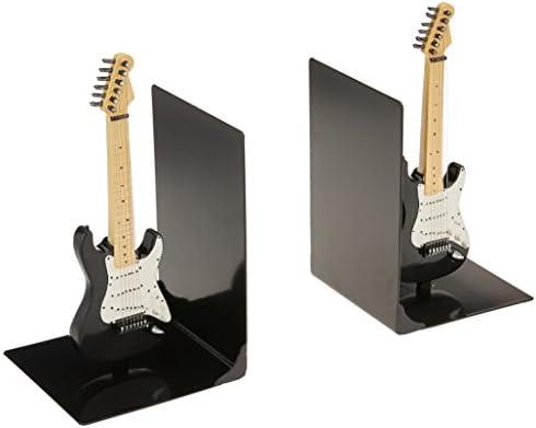 Mi música de Regalos Fender Guitarra sujetalibros, Negro: Amazon ...