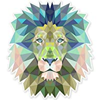 Lion Modern Art Design Car Vinyl Sticker - SELECT SIZE