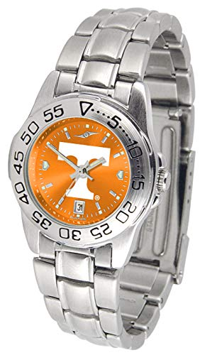 Tennessee Volunteers - Ladies' Sport Steel AnoChrome (Volunteers Ladies Watch Sport)