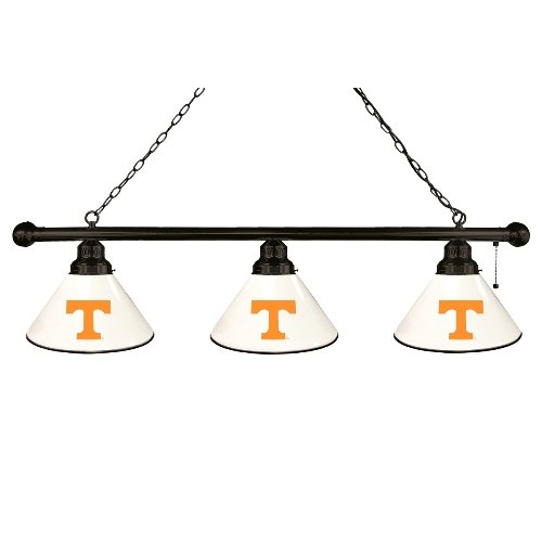 Pool Tennessee - NCAA 3-Shade Pool Table Light by Holland Bar Stool - University of Tennessee