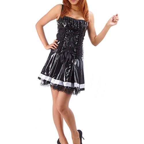 Cuterole Death Note Amane Misa Dress Skirt Cosplay (Misa Death Note Cosplay Costume)