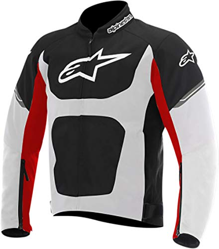 Alpinestars T-Viper Air Men's Street Motorcycle Jackets - Black/White/Red / 2X-Large
