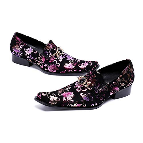 Youth Nightclub DJ Hairdresser Shoes Breathable Purple (Dj Dresser)