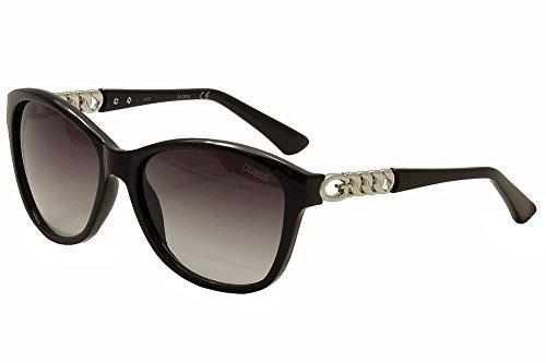 Guess Womens GU7451 Silver Sunglasses