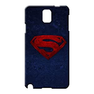 samsung note 3 case Plastic Hot Style phone carrying case cover superman Logo