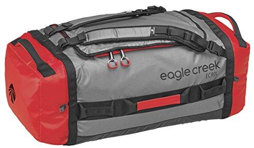 Wasserabweisender Backpacker Cargo Hauler Duffel ultraleichte Reisetasche mit Rucksackträgern, 90 L