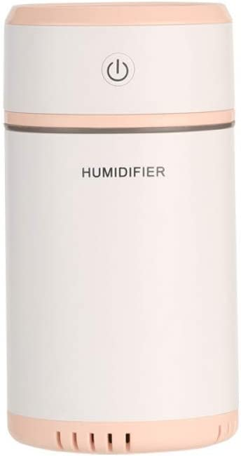 NBJNF Humidificador de Aire de 200 ml Humidificador ultrasónico USB Mini difusor de Aroma Purificador de Aire Luz LED Humidificador para Niebla de Niebla del Coche casero: Amazon.es: Hogar
