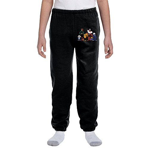 Undertale Sans Character Peace Teen Men Loose Pajama Sleep Lounge Bottom Pants Sports Black Medium