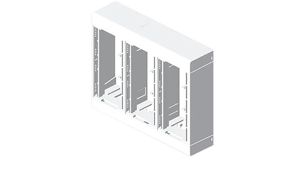Unex 85033-2 U24X Caja para 6 Mecanismos, Blanco: Amazon.es: Industria, empresas y ciencia