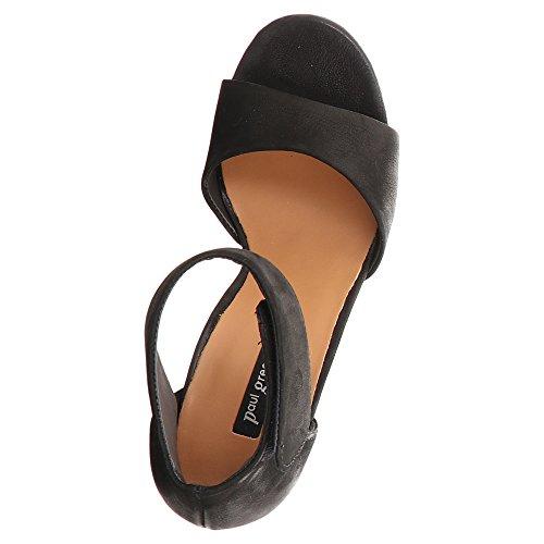 Sandales 6938 Femme 009 Noir Pour Paul Green qfRptt