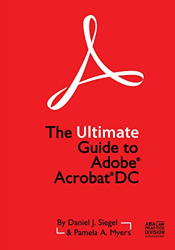 Price comparison product image The Ultimate Guide to Adobe Acrobat DC