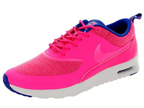 Nike Women's Air Max Thea Prm Hypr Pnk/Pnk Glw/Hypr Cblt/Smm Running Shoe 10 Women US