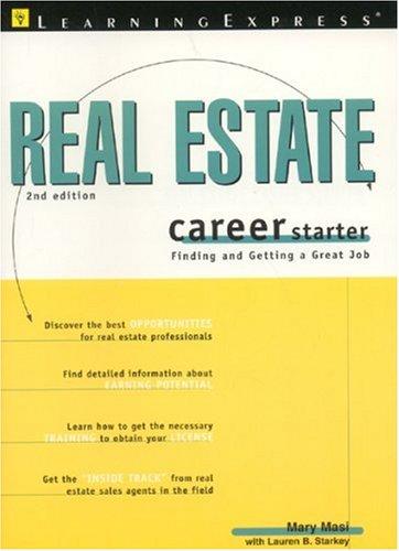 Real Estate Career Starter 2e