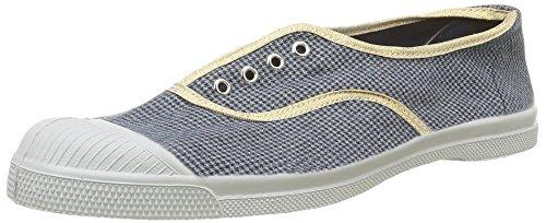 Bensimon Tennis Elly Checks - Zapatillas de deporte Mujer Azul - Bleu(9985 Pied De Puce)