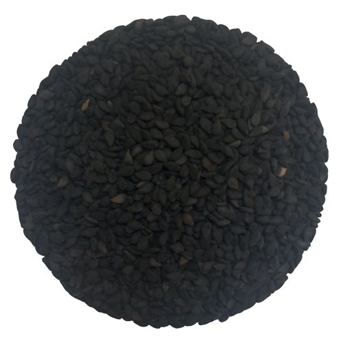 Black Sesame Seeds 80 oz by Olivenation