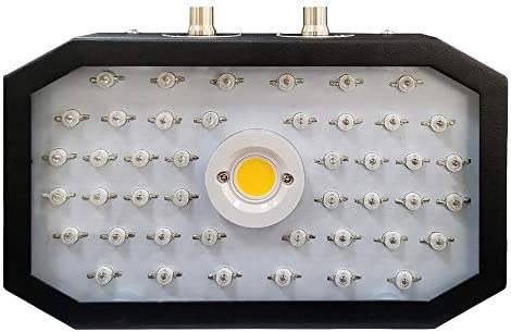 MICSHION LED Plant Grow Light 1200W Full Spectrum Dual Switch Dual Chips Full Spectrum Plant Light with Veg Bloom Switch and Adjustable Rope for Hydroponic Indoor Plants Veg and Flower