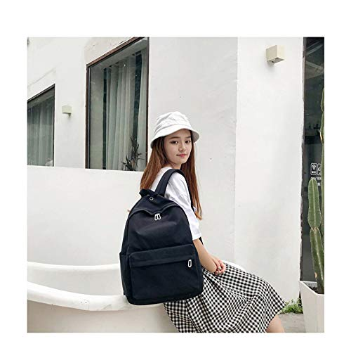 Travel Color Secondary Student Junior Studente Fabric Shopping Zaino Borsa B Candy Nylon Vhvcx Waterproof vxZAx