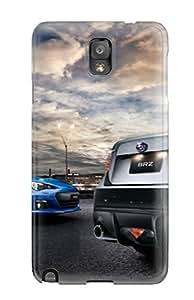 Hot Design Premium KlkYEwY6315dxXzI Tpu Case Cover Galaxy Note 3 Protection Case(subaru Brz 5)