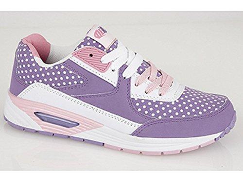 DEK OMG! Girls Junior Lace-Up Running Trainers y9snPUQ