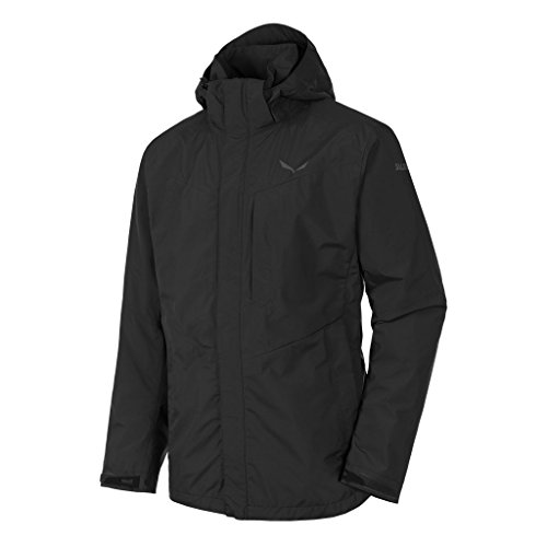 SALEWA Herren Fanes Gore-Tex Shell Jacket-2-Lagen Jacke, Black Out, 48/M