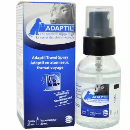 CEVA Animal Health Adaptil Appeasing Pheromone Travel Spray for Dogs, 20ml