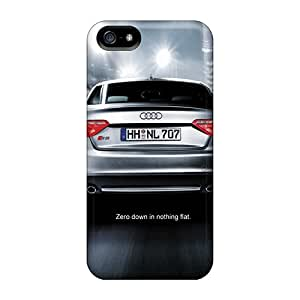 Scratch Protection Hard Cell-phone Cases For Iphone 5/5s With Custom Vivid Audi R8 Pictures JoanneOickle