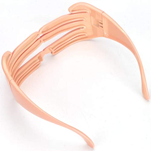 Verres Lunettes Fournitures Fityle F Festival Masques Finger Costume Fête Eyewear Classique Shaped 0g6gxF