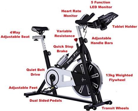 IQI FITNESS - Bicicleta de Entrenamiento Spinning: Amazon.es: Deportes y aire libre