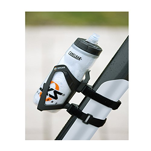 SKS-Germany 11231 Anywhere Bicycle Attachment Water Bottle Mount with Top Cage Bottle Holder