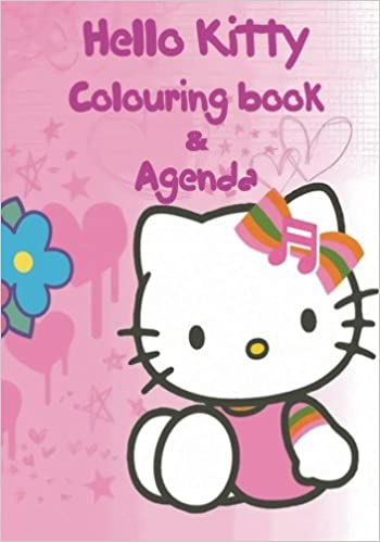 Hello Kitty Agenda & Colouring Book: A lovely colouring book ...