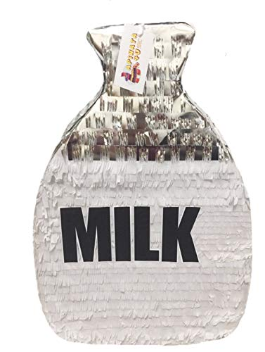 APINATA4U Milk Jug Pinata for Milk and Cookies Themed Party -