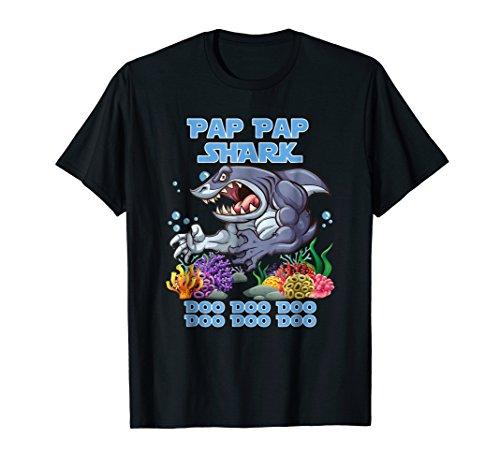 Pap Pap Shark Do T Shirt Funny Halloween Cute Gift Idea ()