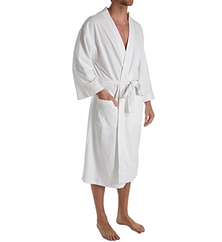 - Hanes Big & Tall Ultimate Waffle-Weave Knit Spa Robe