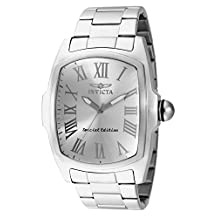 Invicta Men's 15187 Lupah Silver Dial Stainless Steel Watch