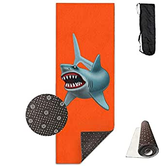 Amazon.com: Workout Mat for Yoga, Tiger Shark Printed