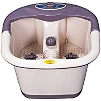 Sparlour Foot Bath Pedicure Tub With Vibration, Heater, Infrared & Bubbles Get Free Gift Bowl Form Italy