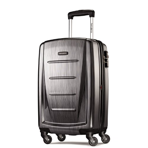 Samsonite Winfield 2 Hardside 20″ Luggage, Charcoal