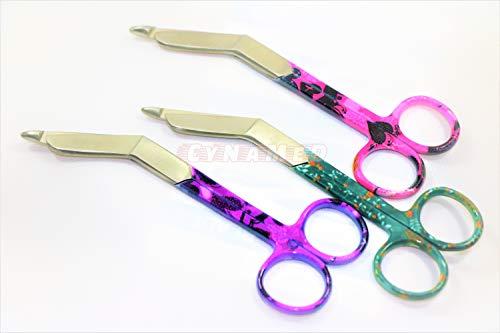 New 3 O.R Grade Nurses Lister Bandage Scissors 5.5