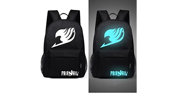 Amazon.com: Senkey style Mens Backpack Anime Starry sky Luminous Printing Teenagers Casual Mochila Men Womens Student Cartoon School Bags (M6): Computers ...