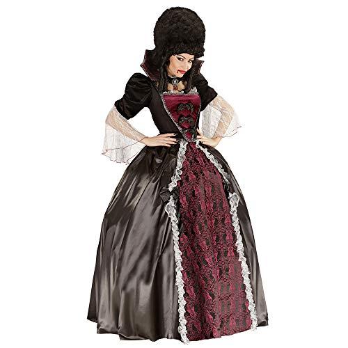 - Widmann 05611adult Vampiress Costume Dress, Petticoat, Collar And Cameo