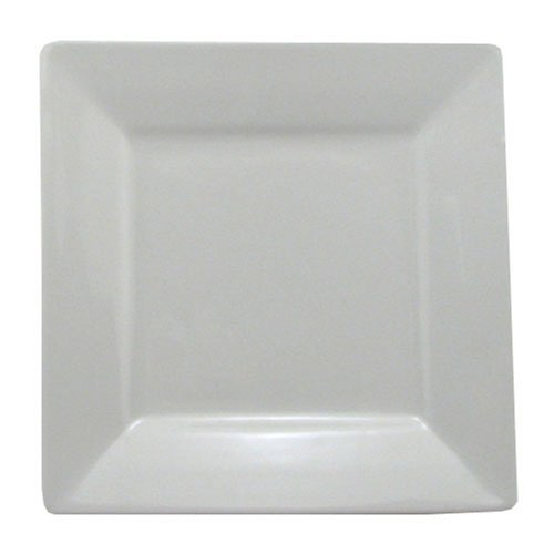 BIA Cordon Bleu Nouveau Square Rim Plates, Set of 2, (Bistro Dinner Plate)