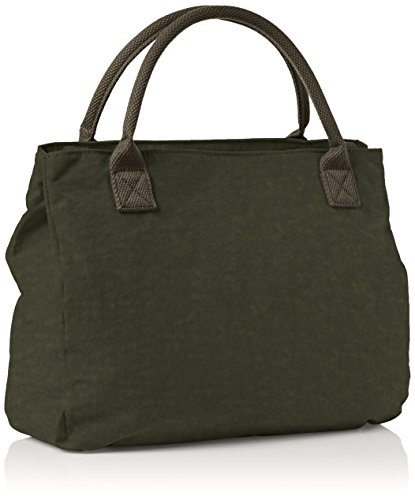 Pink Green Bag Khaki Womens Shoulder Shell Size Kipling Cactus Caralisa One Hq478xXF