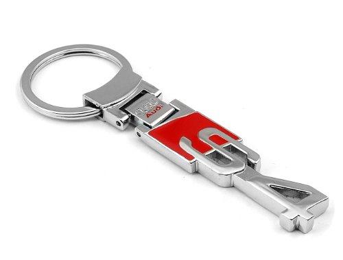 Audi S4 Accessories - Audi S4 S-line Sline Logo Chrome Pendant Keychain